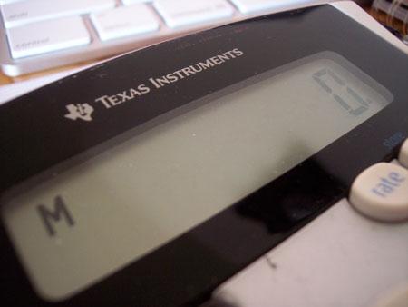 Texas Insruments Calculator