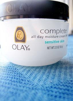 Oil of Olay Face Lotion Jar