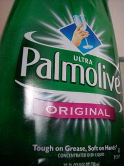 Palmolive Dish Soap Bottle
