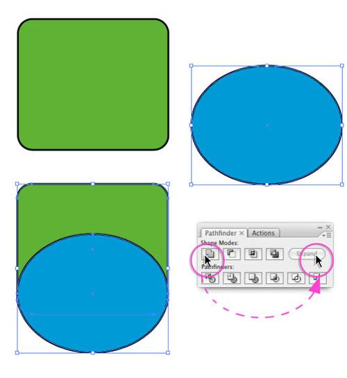 Illustrator CS3 Pathfinder Tool