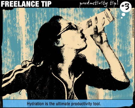 Freelance Tip #3: Hydration is the Ultimate Productivity Tool